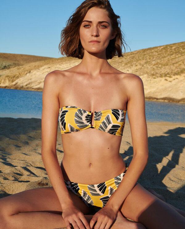 Sophie Deloudi Semeli Yellow Palm Tree 2020