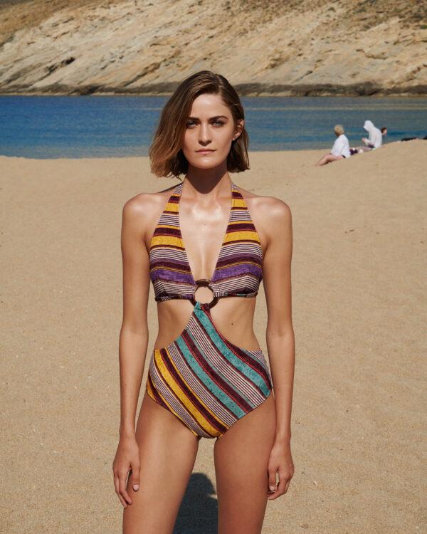Sophie Deloudi Twiggy Purple Velvet 2020