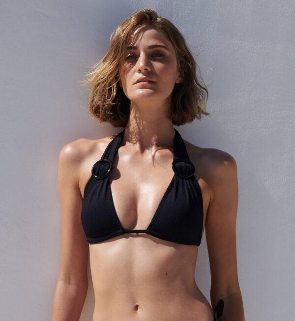 Sophie Deloudi Zoe Fishbone Black 2020